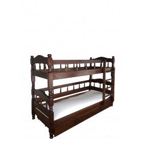 Кровать двухъярусная Точёнка